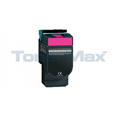 LEXMARK CV54X/XV544 TONER CART MAGENTA HY RP